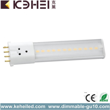 6W 2G7 4 Pin LED PL Tubi 4000K
