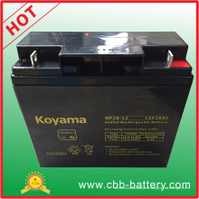 Batería AGM plomo ácido 12V 18ah para vehículo utilitario