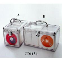 alta qualidade 120 & 160 discos cd acrílico suporte CD por atacado