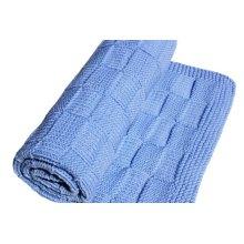 High Quality Hand Crochet Knit Baby Blanket Throw Bedding