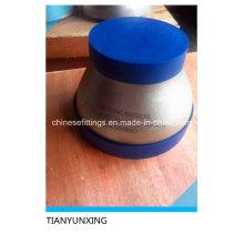 Aço Inoxidável ASTM B16.9 Pipe Fittings Conc Reducer