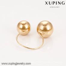 14918 Xuping оптовые ювелирные изделия новый дизайн простой 18k позолоченный женщин кольца