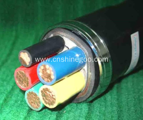 0.6/1kV XLPE insulated steel tape armoured power cable