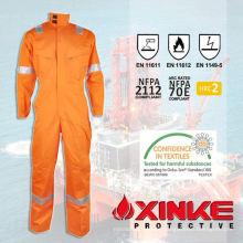 vestuário resistente ao fogo para resgate