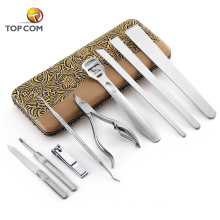 Branded 9 in 1 accessories for manicure pedicure set