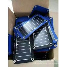 5Вт 6 Вт Солнечной мобильного телефона iPad Электрический забронировать Складная зарядное устройство Сумка пакет с TUV сертификации