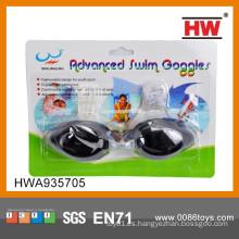Gafas de buceo de juguete de plástico negro para niños de alta calidad