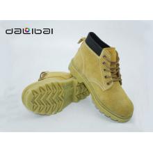 Camurça superior barata luz melhor marca sapatos de segurança elegante