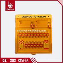 Estação de Bloqueio de Segurança Avançada Multifuncional BD-B201, estação de gerenciamento de bloqueio