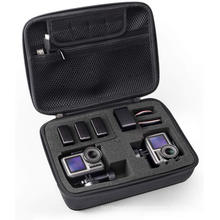 Portable shockproof hard camera protection case travel bag, display camera protection box for tool