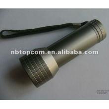 aluminum 9 led lenser flashlight
