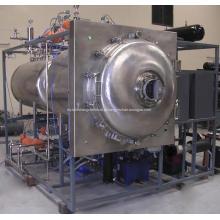 Máquina de secar a vácuo com microondas de matérias-primas cosméticas