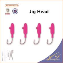 JHL024 Cabeça de gabarito de venda quente do gabarito do bucktail do molde da cabeça