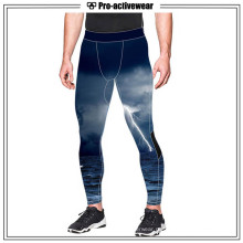 Mens Gym Wear Running Exercício Compression Sports Pants