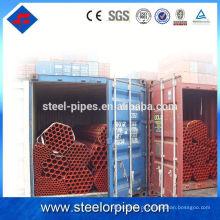 Seção oca Tubulação galvanizada e tubulação de aço em estoque