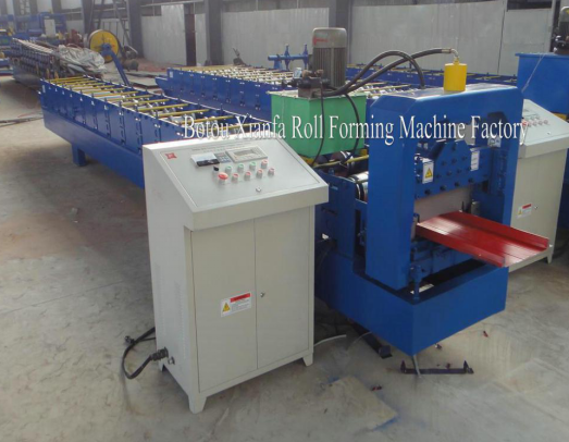 Self-locking Roll Forming Machine