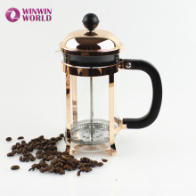 Whoelsale 350ml Copper 304 Grade Stainless Steel Rose Gold French Press