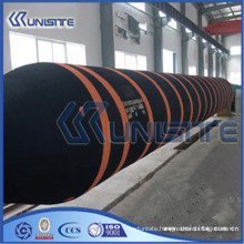 customized black flexible rubber hose for dredge construction (USB5-006)