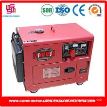 6kw Silent Design Diesel Generator Set for Home & Power Supply