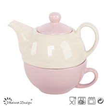 Colorful Glazing Cup and Teapot