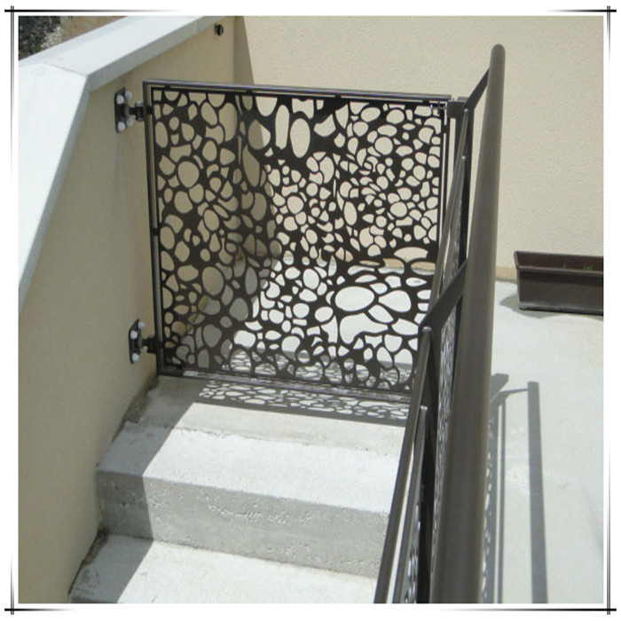 Laser Cut Metal Staircase