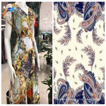 Cheap 100% Polyester Chiffon Printed Garment Fabrics