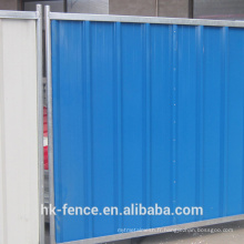 Exécution de thésaurisation en acier de couleur de panneau de thésaurisation de construction de clôtures