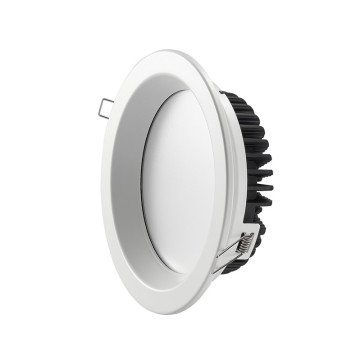 Efficacité lumineuse 18W 100lm/W de downlight LED changeant