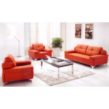 Good quality leather cheap price office sofa set