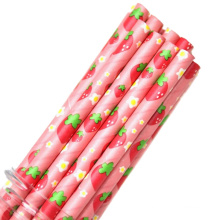 Safety level bulk striped drinking straws biodegradable paper straws