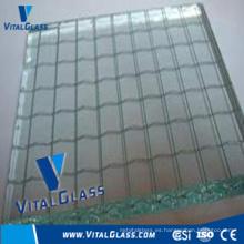 6.5mm de vidrio de seguridad con cable (WG)