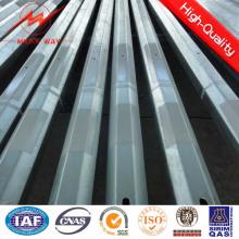 12 m 500dan-1500dan Steel Poles Safety Factor 2.1 o más