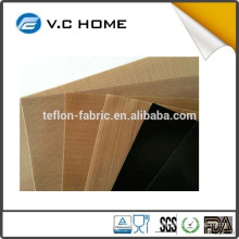 High temperature PTFE Teflon coated fiberglass fabric cloth without adhesive
