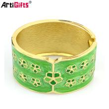 Pulseras y pulseras modernas plateadas oro lindo al por mayor de encargo