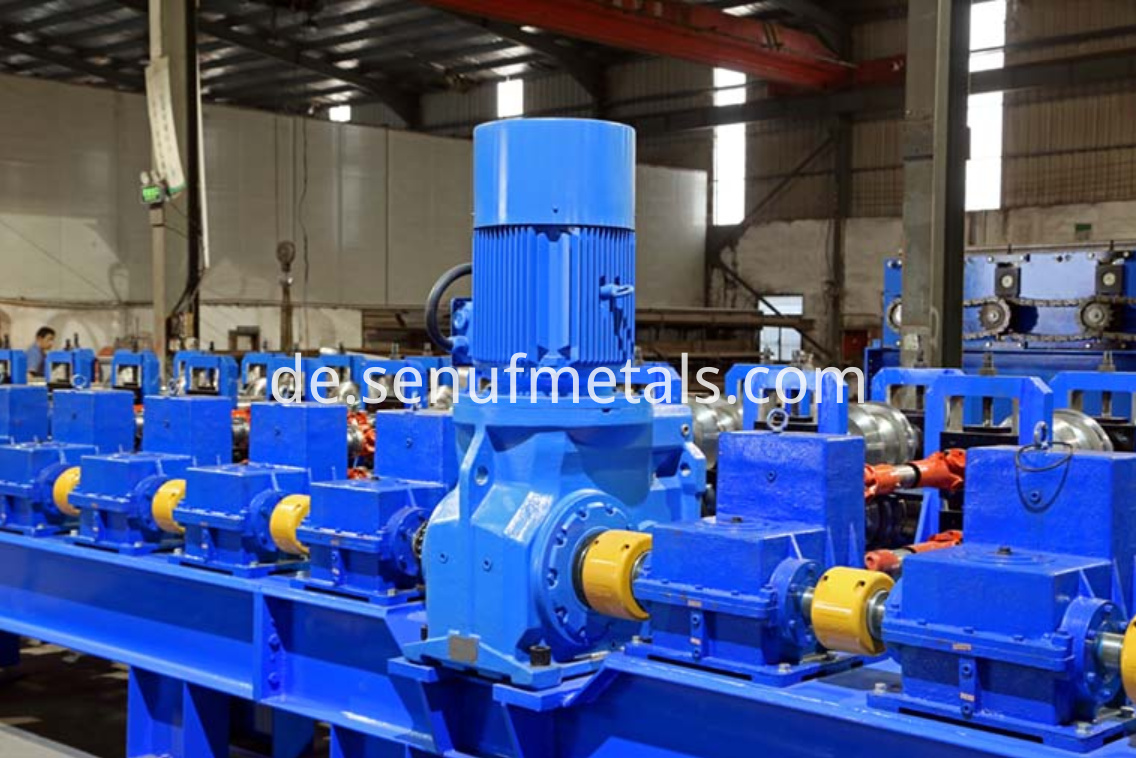 highway guardrail forming machine motor