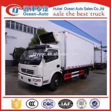 Dongfeng 3ton congelador camión precio