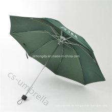 Mini Windproof Cyan Pg Abdeckung 4 Taschenschirm (YS4F0007)