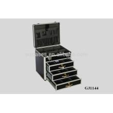 gabinete con 3 cajones de herramienta de aluminio fuerte y portátil
