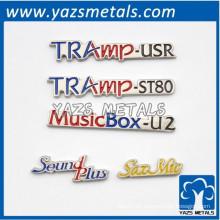 Kundenspezifisches Briefschreibetikett mit Diamanten