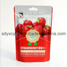 SGS Approved and Stand up Ziplock Dried Fruit Food Bag with Handhole