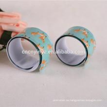 Pulsera de la palmada reflectante ajustable promocionales
