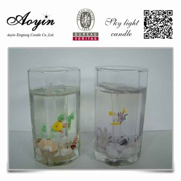 Lovely aroma home decor gel candle