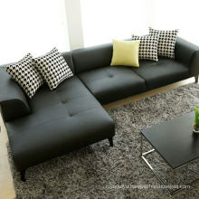 Simple and Modern Leather Living Room Sofa