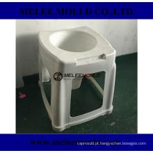 Molde portátil plástico do toalete do toalete