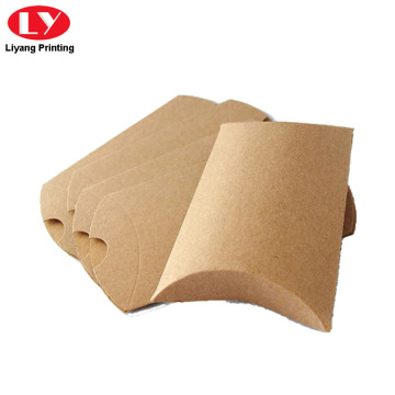 Kraft Paper Pillow Box do pakowania mydła