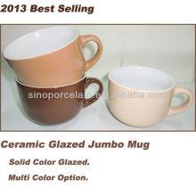 2013 Best Selling Ceramic Glazed Jumbo Mug For BS130515C