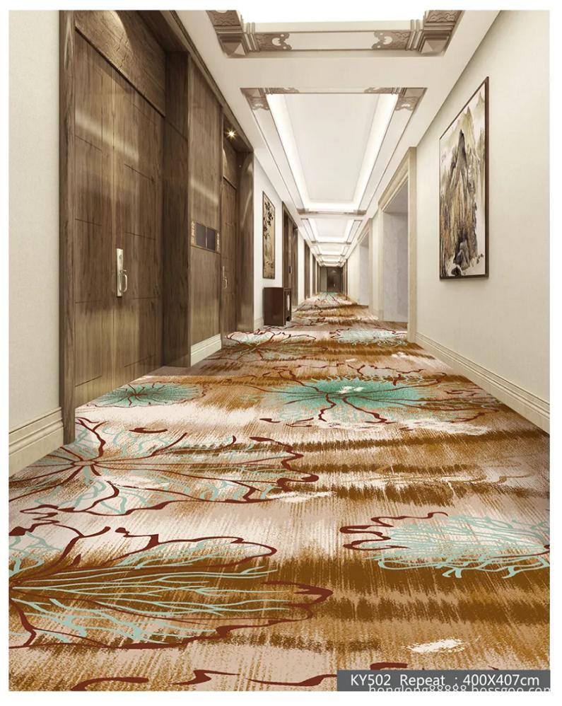 Print Cut Pile Carpet