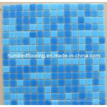 Cheap Glass Mosaic Swimming Pool Mosaic Tile (HSP316)