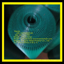 YW-- green vinyl coated welded wire mesh fence(factory price)/Skype: randy.liang1