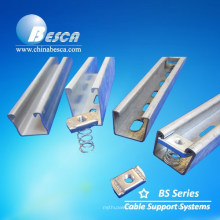 Galvabond Steel Material Electric UniStrut C Channel